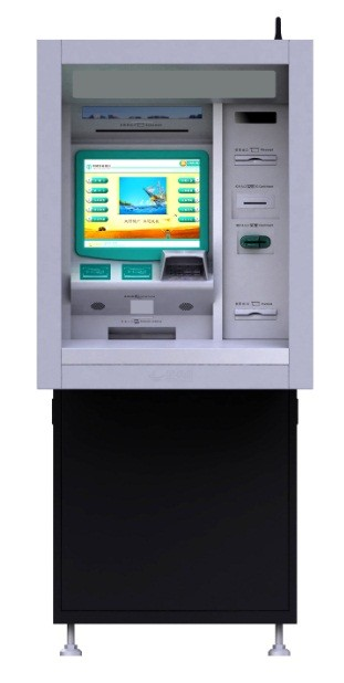 New Customized Android or Windows OS Payment Kiosk/Wall mounted Kiosk with Custom Design by LKS